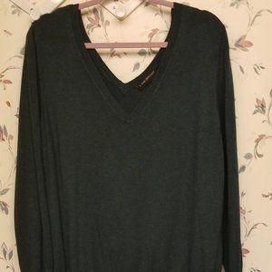 Lane Bryant Deep Green Sweater